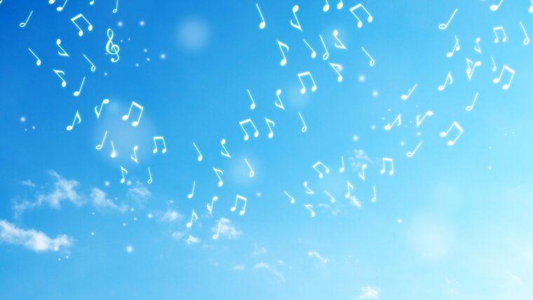 空に響く音楽