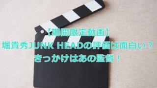 映画JUNK HEAD